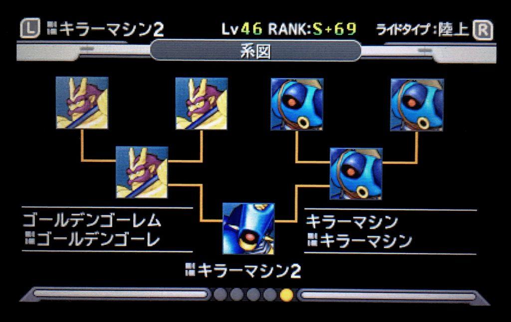 キラーマシン2配合表