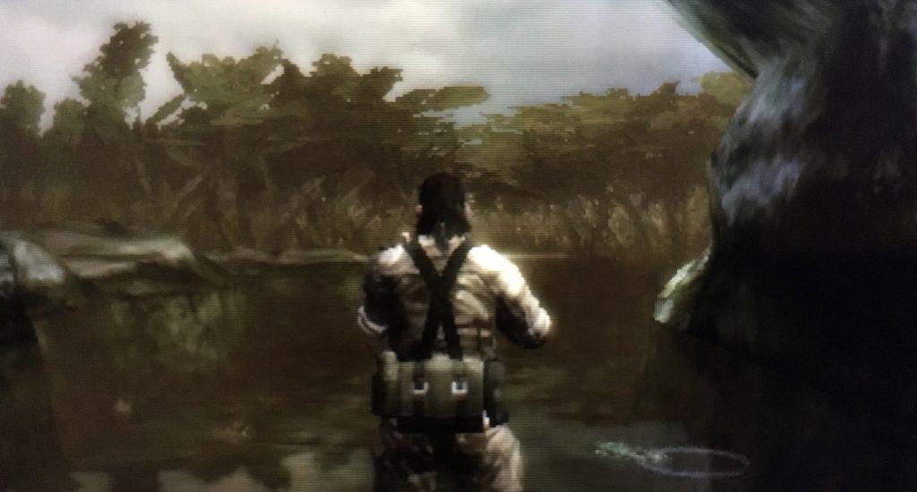 メタルギアソリッドスネークイーター3D水辺