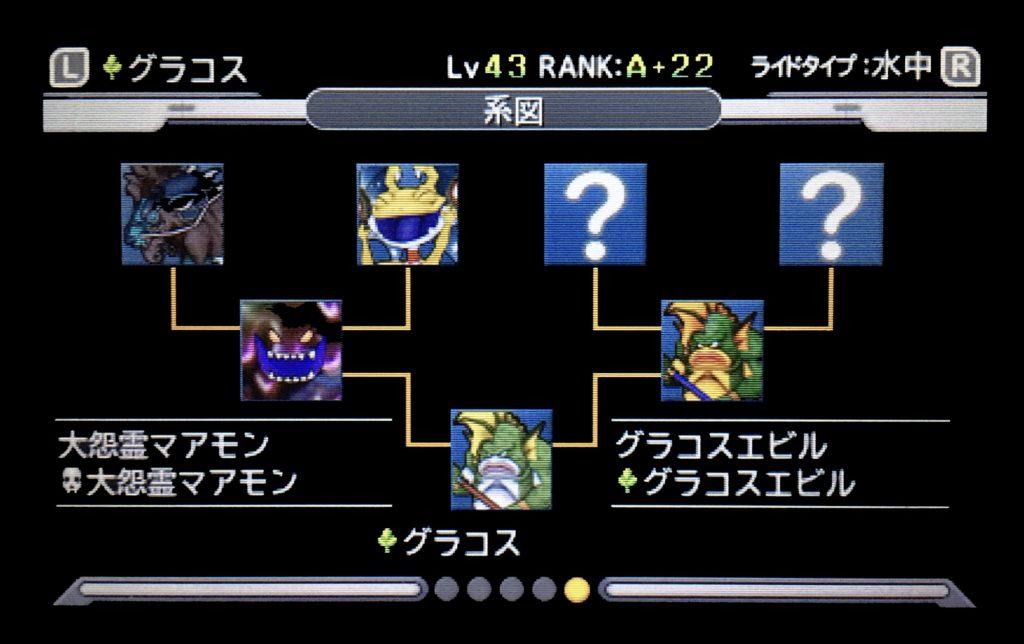 ジョーカー3 グラコス配合表