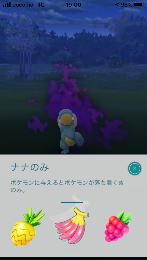 ポケモンGO ナナのみの説明