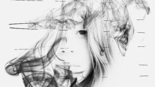 Photopeaを使って煙と顔を使ったCDジャケット風画像作ってみた