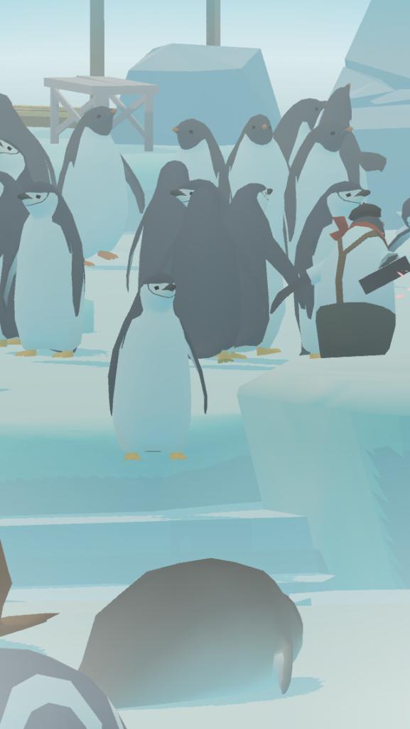 ペンギンの島のペンギンたち