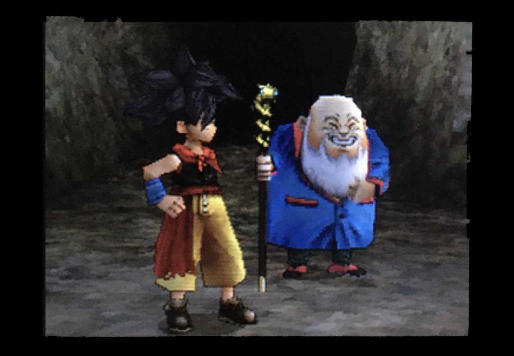ドラクエジョーカー2 少年と爺さんも続いて奥へ進んでいく。