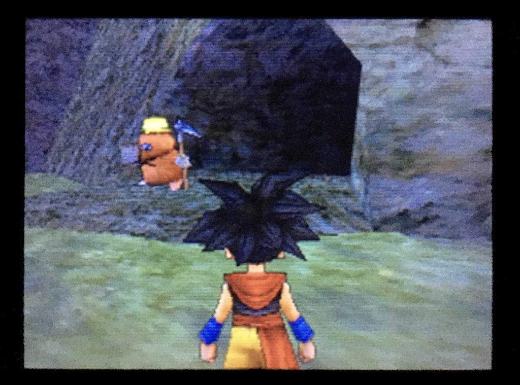 ドラクエジョーカー2 洞窟の前にキラーピッケルがいる