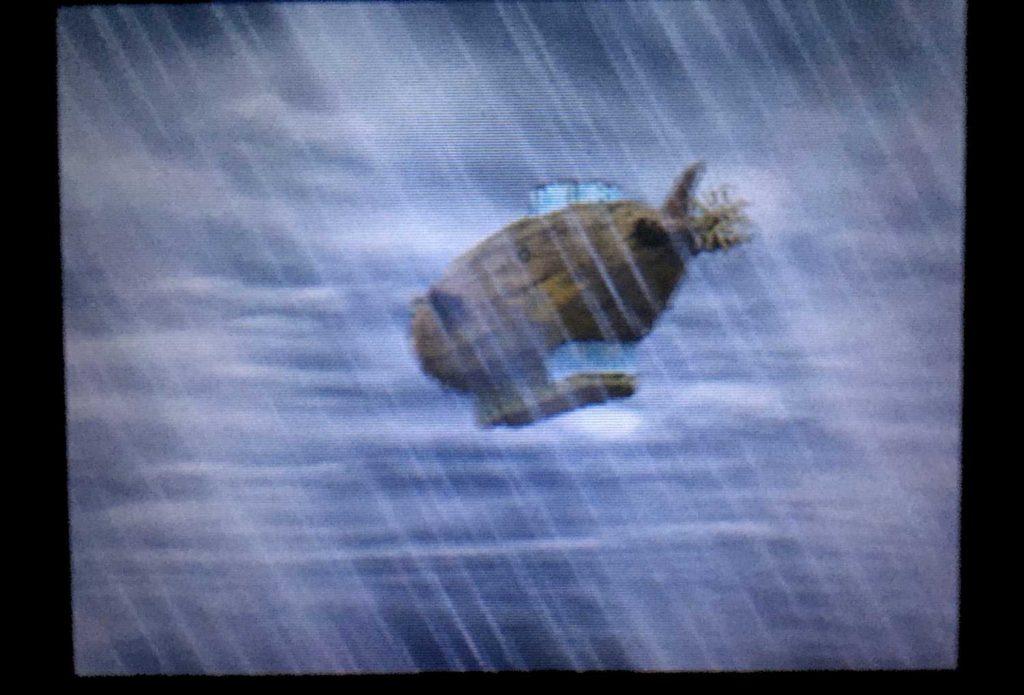 ドラクエジョーカー2 嵐の中流される飛行船