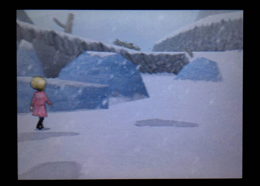 ドラクエジョーカー2 キストーラは雪山を一人で進み出した。