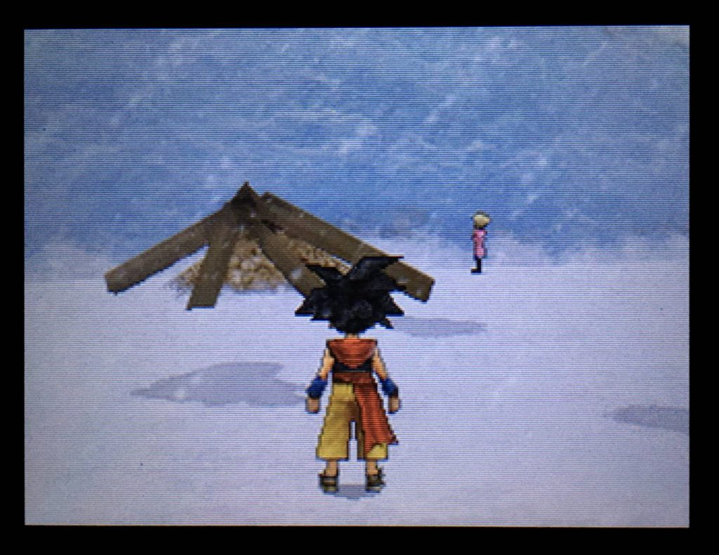ドラクエジョーカー2 氷の壁の前で佇むキストーラ