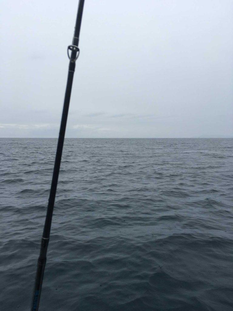 釣り船から見る日本海の景色