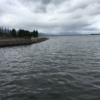 瀬田川からみた琵琶湖