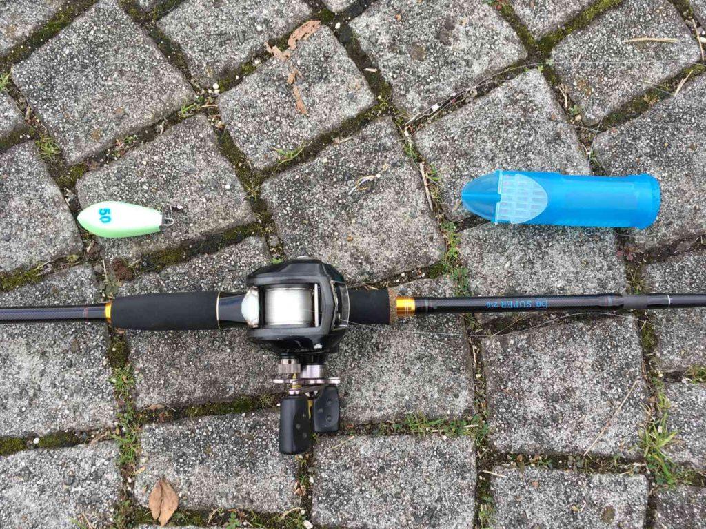 タイの餌釣りで使ったベイトタックル