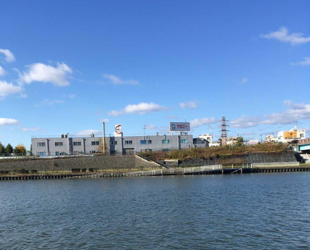 神崎川 対岸のポイント