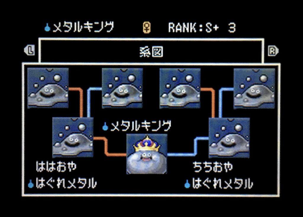 ドラクエジョーカー2 メタルキング配合表
