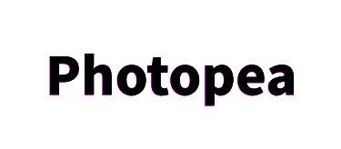 Photopea 複製したテキストレイヤーを矢印キーで移動