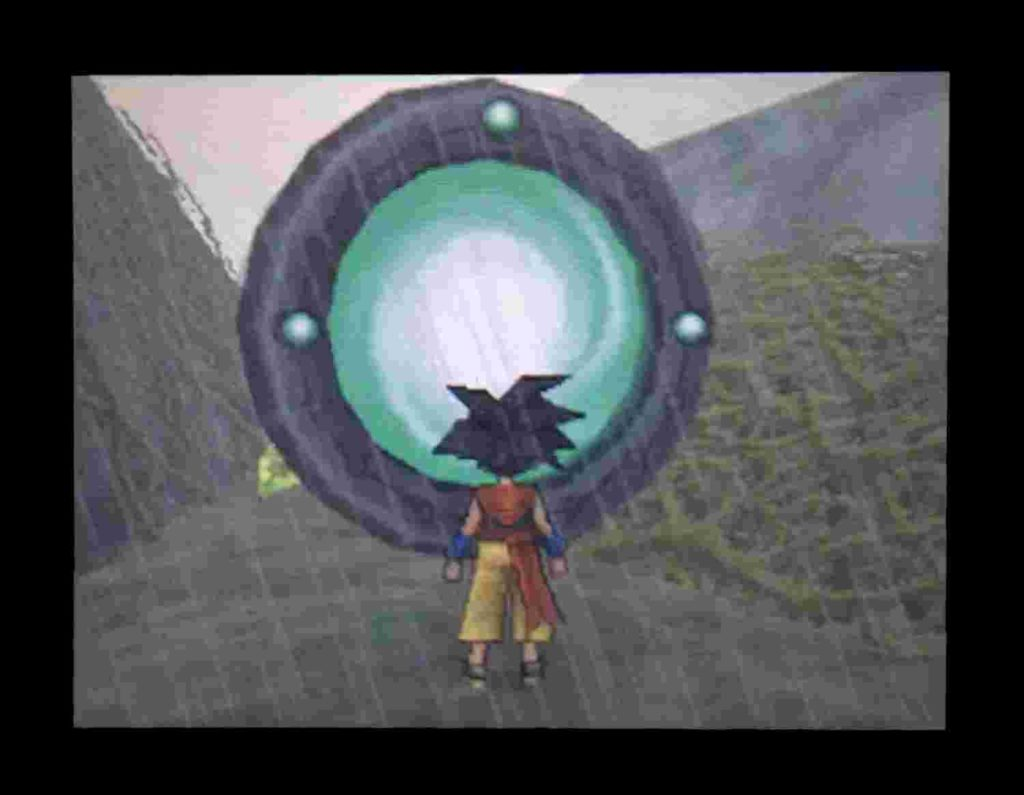 ドラクエジョーカー2 平原の不思議な扉が光る