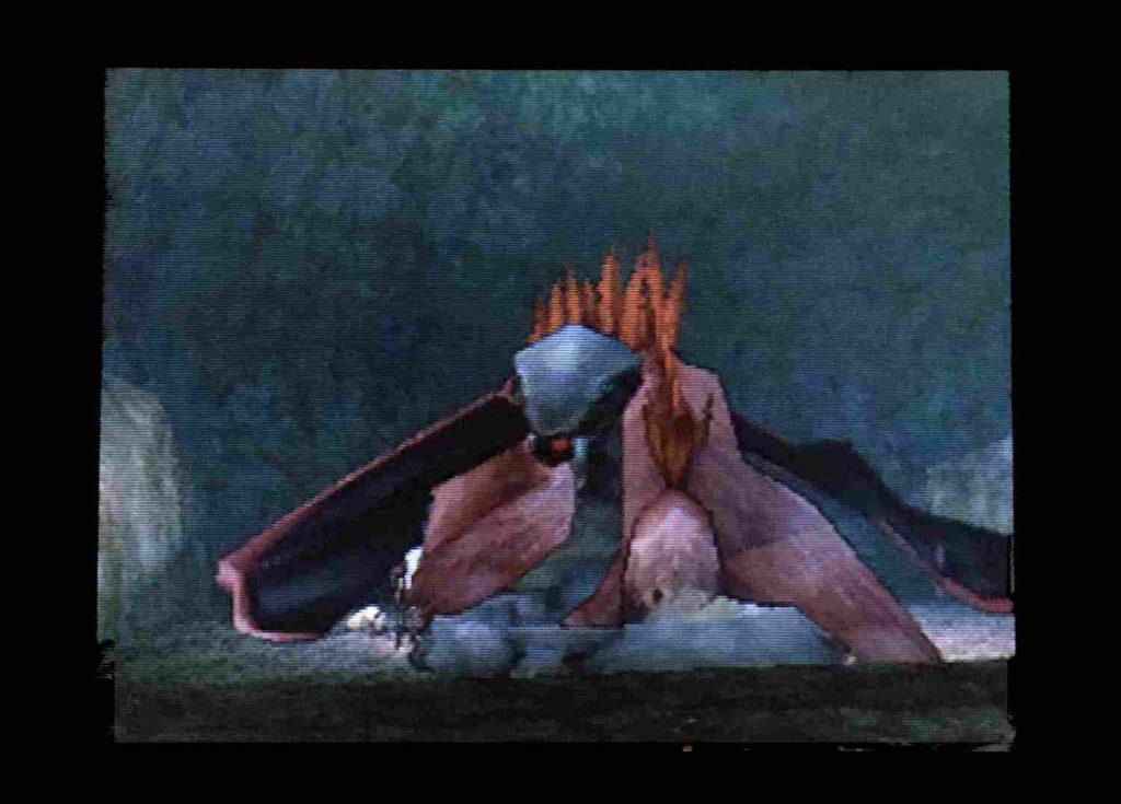 ドラクエジョーカー2 眠るウイングタイガーと動く尻尾
