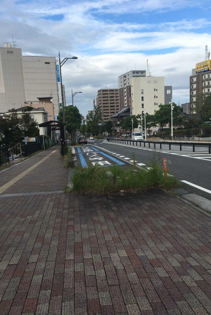 滋賀県大津市ポケふたへの道