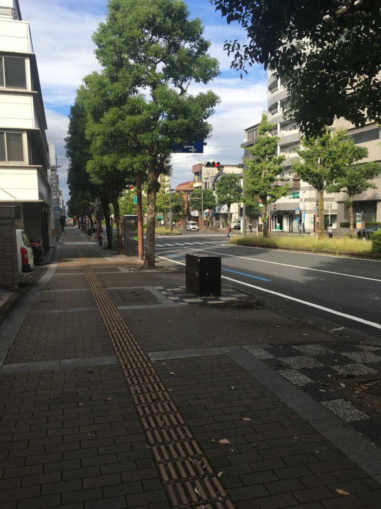 滋賀県大津市ポケふたまでの道